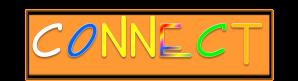 connect logo orange rainbow